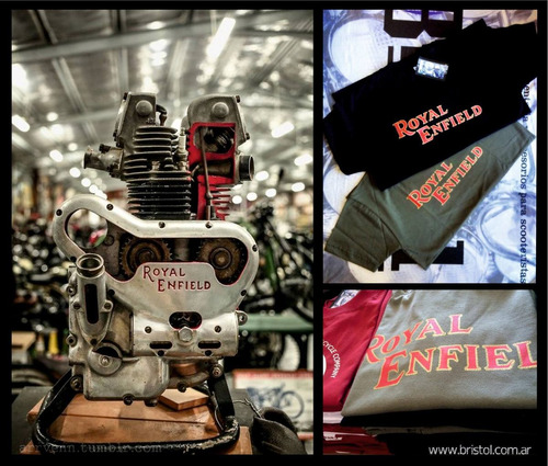 remera motos clasicas. ajs. indian. re. triumph