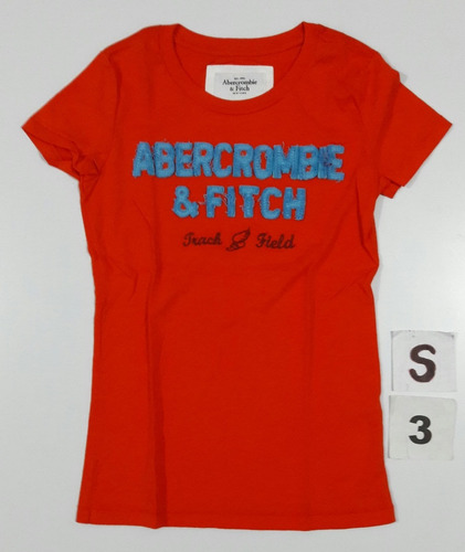 remera mujer abercrombie fitch