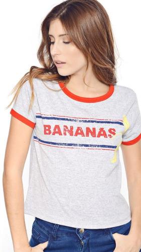 remera mujer banana