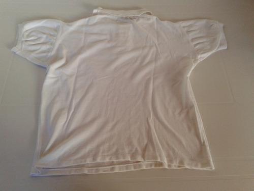 remera mujer blanca jean garret talle l