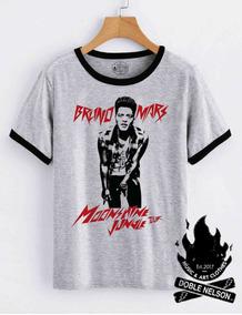 1e2445c24 Remera Mujer Doble Nelson Bruno Mars Music Pop Rock Moda