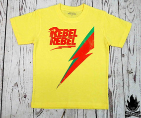 Nelson Roll Doble David Mujer Rock Remera Bowie 2EIHWD9