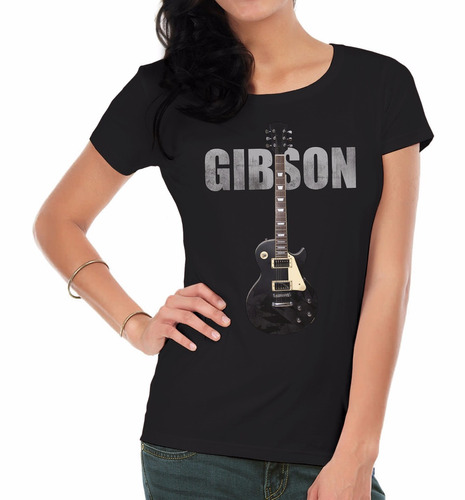 remera mujer   gibson2 inkpronta