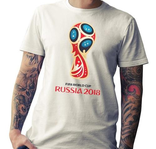 remera mundial rusia 2018- argentina, messi - 100% algodon