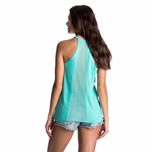 remera musculosa para mujer roxy carmens wave #38105017