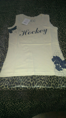 remera musculosa reves hockey algodon