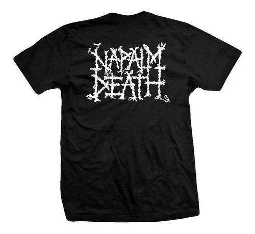 remera napalm death  utilitarian