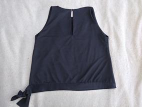 4a3890b0a38d Remera Negra De Vestir Mujer Blusa M L