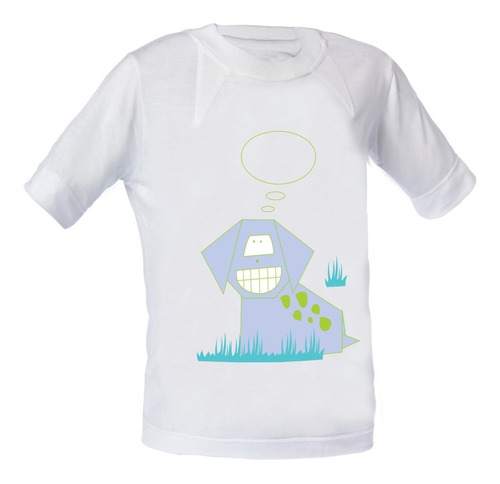 remera nene - estampa varia color c/sol - bloqueo uv