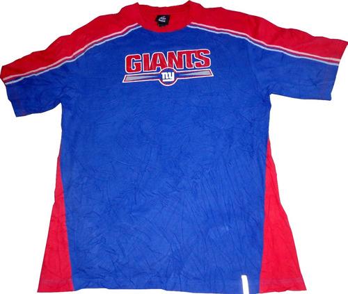 remera new york giants futbol americano nfl reebok casla usa