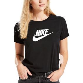 465c11691b2e2 Remera Nike Color Negro Dama