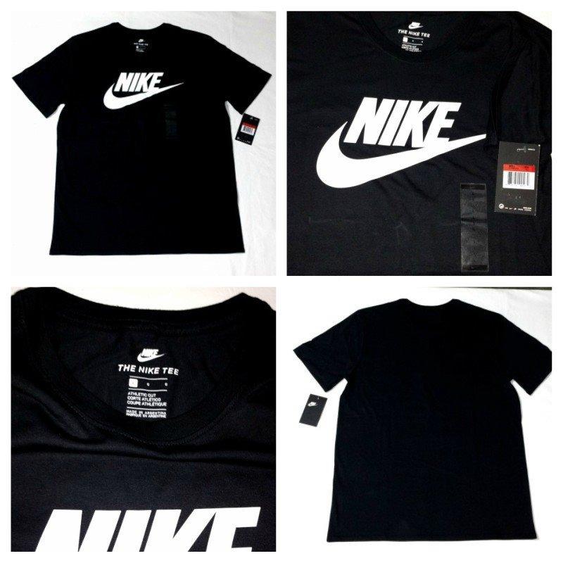 c942881d4346a remera nike negra nsw athletic logo blanco nuevas originales. Cargando zoom.