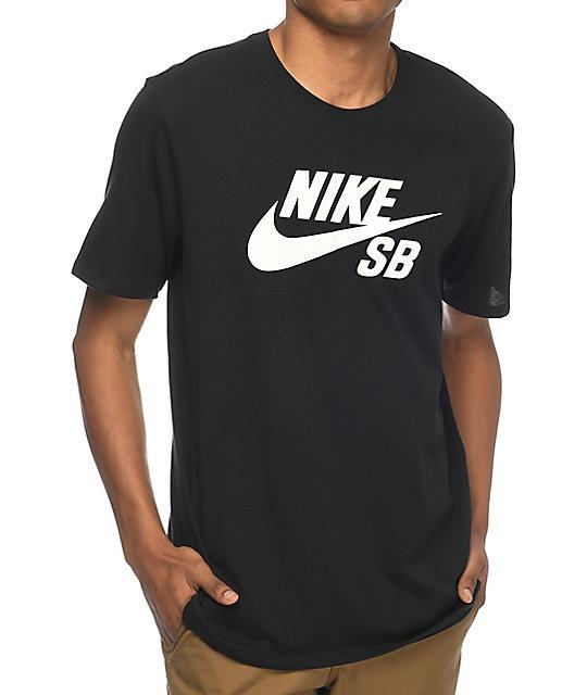 fd01f44c127a5 Remera Nike Sb Logo Tradicional Original Nueva Negra Men s -   750 ...