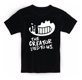 Remera Niño Bendy And The Ink Machine Creator - top trench boy roblox code hot trench boy roblox code