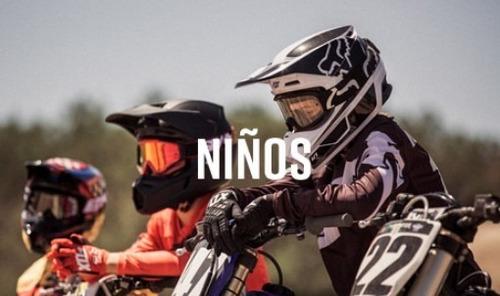 remera niño fox legacy ss gris motocross atv juri atv