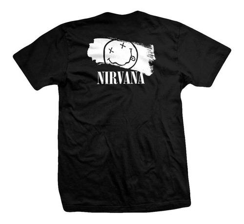 remera nirvana  grid