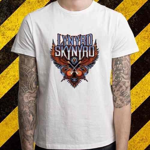 remera nuevo logotipo lynyrd skynyrd eagle rock band legend