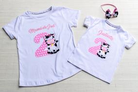 ventas calientes amplia gama mejor Remera O Body Mama E Hija Cumpleaños Personalizada