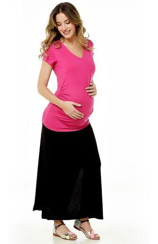 remera odessa manga corta para embarazadas (diseño urbano)