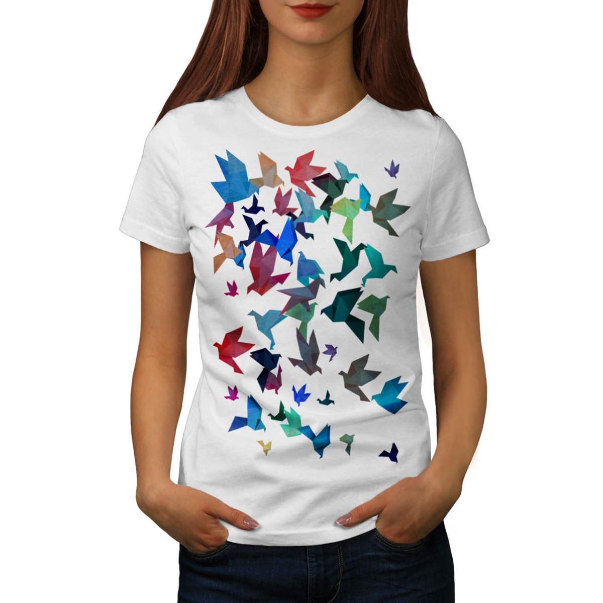 Remera origami con arte de mujer 25000 en mercado libre thecheapjerseys Images