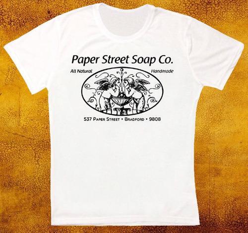 remera paper street soap co fight club retro vintage hipste