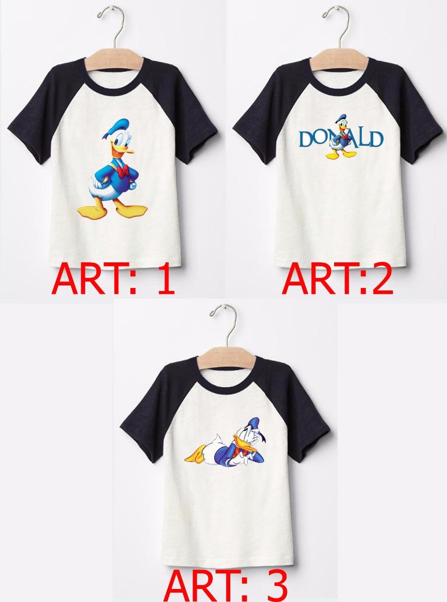 Remera Pato Donald - $ 252,48 en Mercado Libre