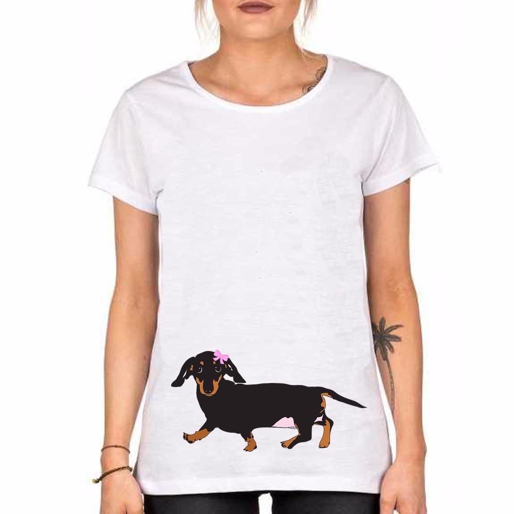 Remera Perro Salchicha Perrita Dog Cute Pet Kawaii Mascota - $ 270 ...