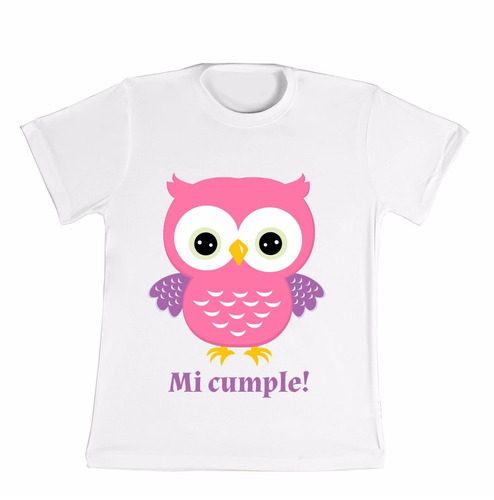 remera personalizada niño/niña cumpleaños!!!