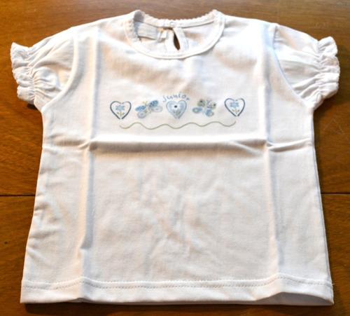 remera picot elástico algodón pima 2 modelos little treasure