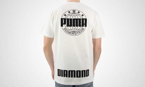 remera puma x diamond