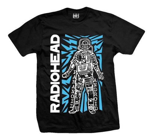 remera radiohead  robot