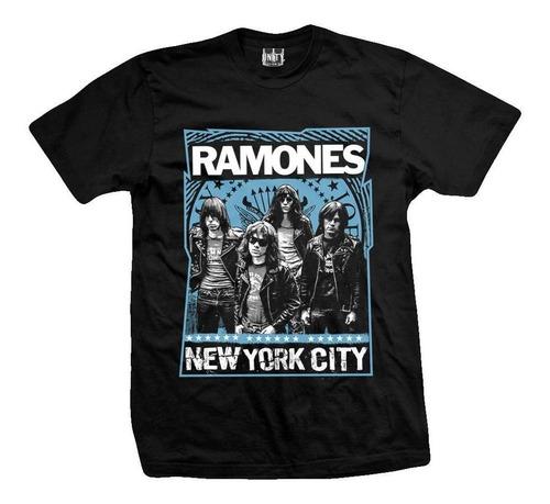 remera ramones  new york city