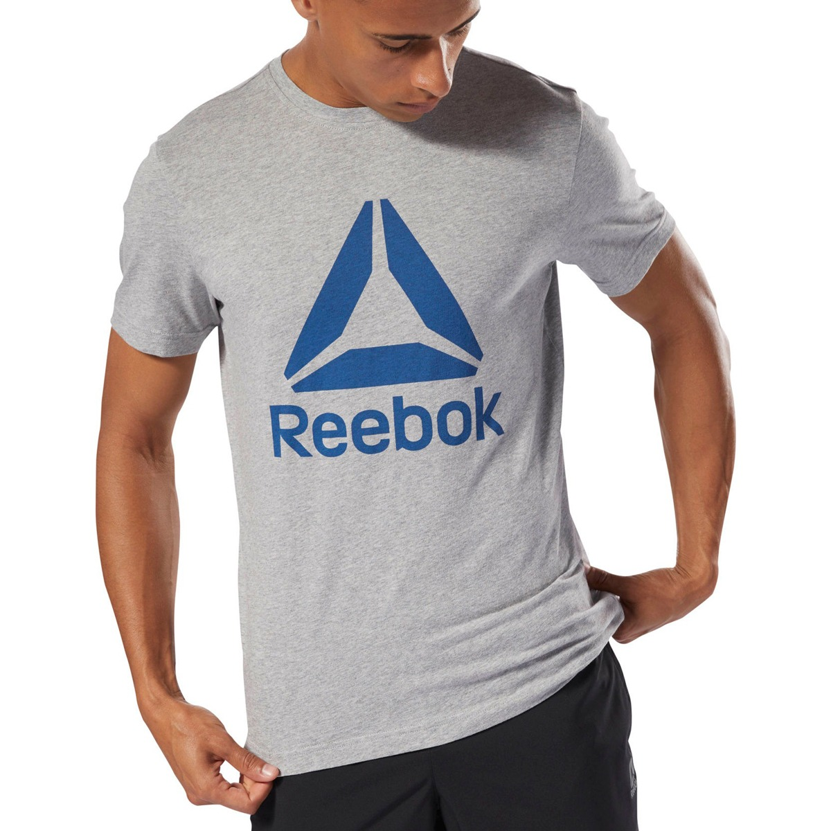a16295089 remera reebok training qqr stacked hombre gr. Cargando zoom.