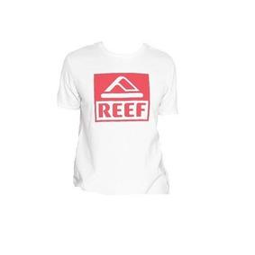 0ddbb6af2 Remera Reef Niños Classic Box Blanca Algodón Talle 10 Al 16