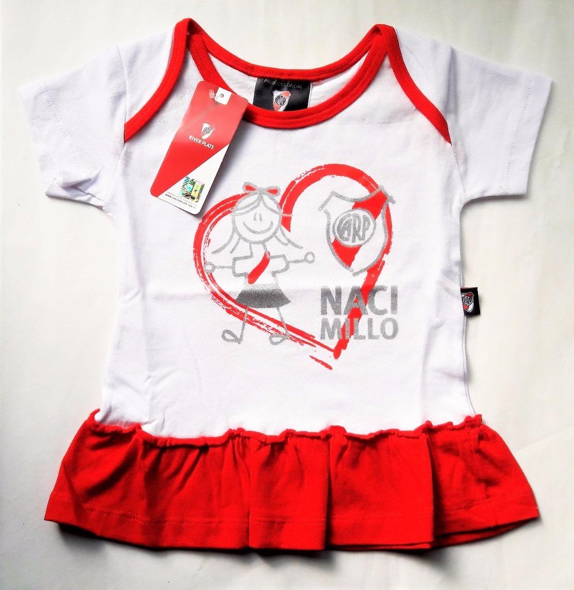 e64ba8824 remera river plate para beba nena camiseta licencia oficial. Cargando zoom.