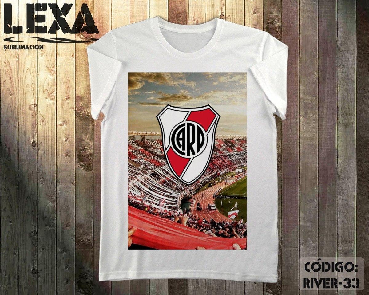 Remera River Plate Platea Y Escudo -   320 d2dbe18cee665