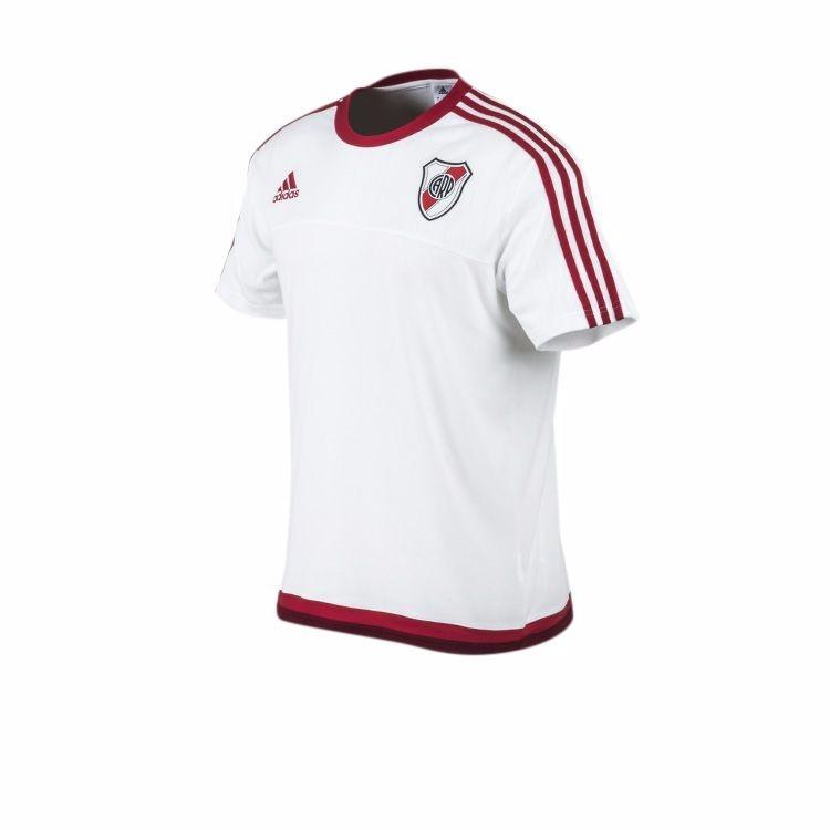Remera River Plate Trg Entrenamiento Blanca Envio Gratis !! -   999 ... 59908c3633c59