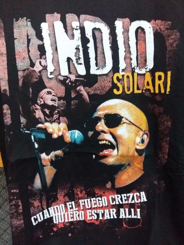 remera rock indio solari redondos patricio rey l17