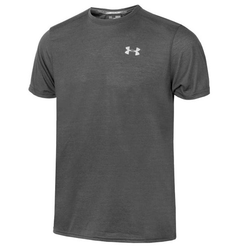 remera running under armour threadborne streaker hombre n