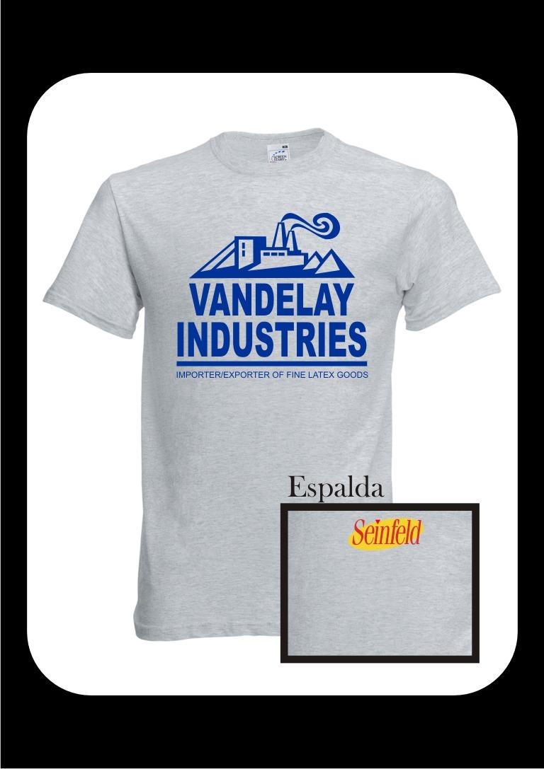 Remera Seinfeld Industrias Vandelay Industries Cargando Zoom