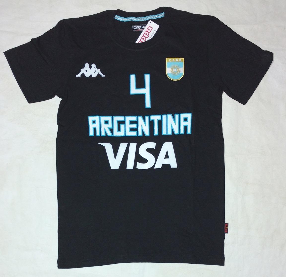 539bc4267f274 remera seleccion argentina basquet mundial kappa. Cargando zoom.