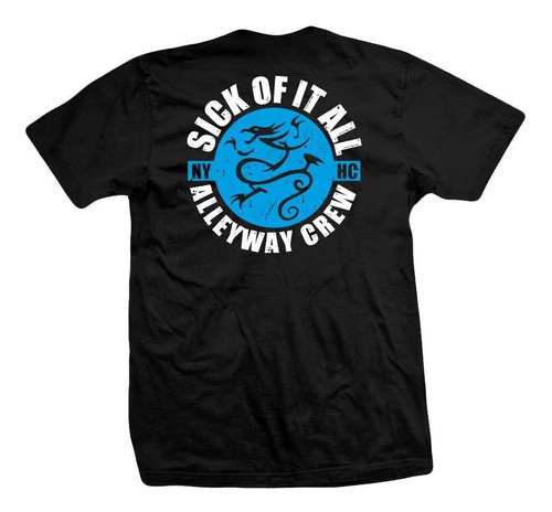 remera sick of it all  alleway crew