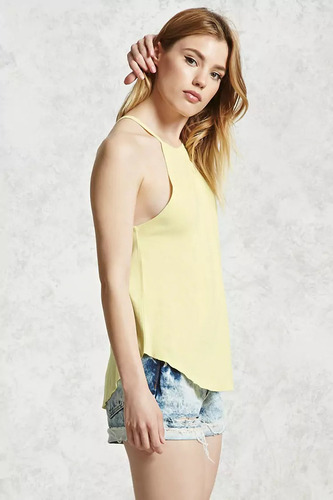 remera sin mangas forever 21