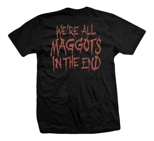 remera slipknot  maggots in the end