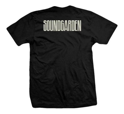 remera soundgarden  lion