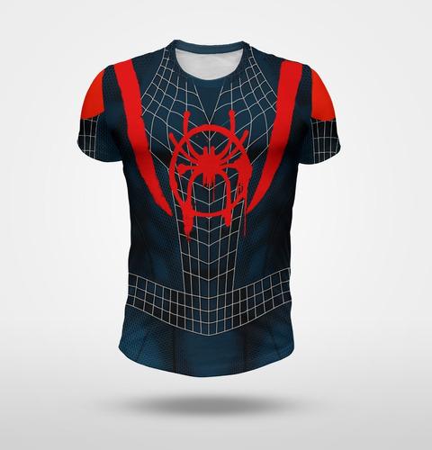remera spiderman miles morales (hombre araña)