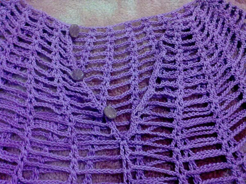 remera tejida en crochet
