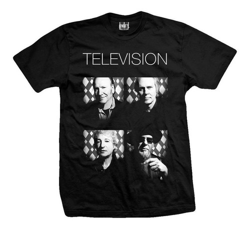 remera television  band on tour
