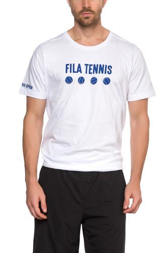 remera tennis hombre fila balls