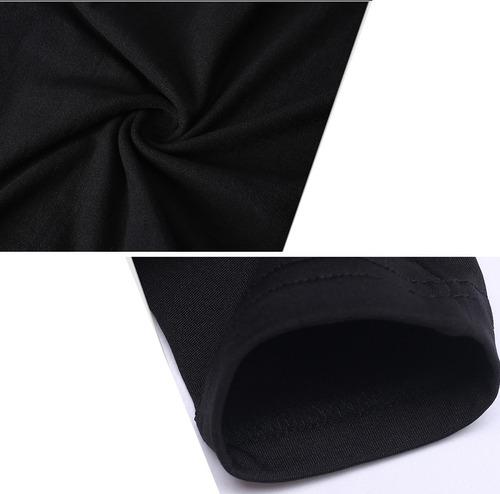 remera térmica futbol primera piel manga larga hifly / oslo